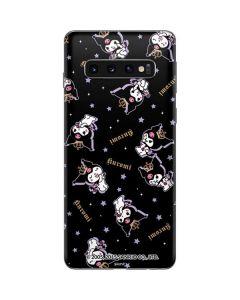 Kuromi Crown Galaxy S10 Skin