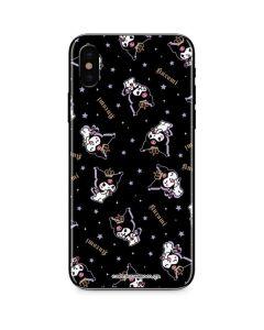 Kuromi Crown iPhone XS Skin
