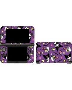 Kuromi Pattern 3DS XL 2015 Skin