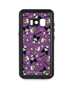 Kuromi Pattern Galaxy S8 Plus Waterproof Case