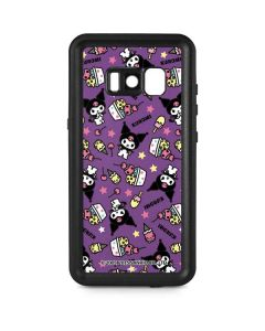 Kuromi Pattern Galaxy S8 Waterproof Case