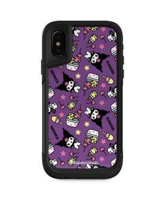 Kuromi Pattern Otterbox Pursuit iPhone Skin