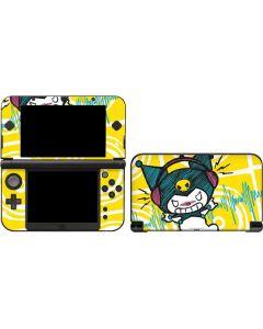 Kuromi Rocker Girl Yellow Stereos 3DS XL 2015 Skin