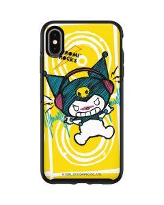 Kuromi Rocker Girl Yellow Stereos Otterbox Symmetry iPhone Skin