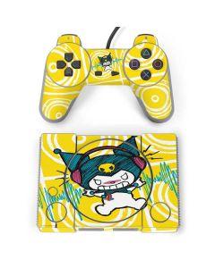Kuromi Rocker Girl Yellow Stereos PlayStation Classic Bundle Skin