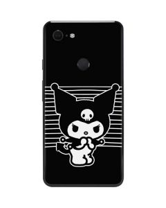 Kuromi Stripes Google Pixel 3 XL Skin