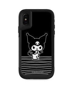 Kuromi Stripes Otterbox Pursuit iPhone Skin