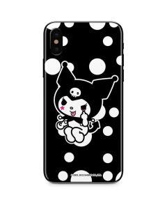 Kuromi Troublemaker iPhone XS Max Skin