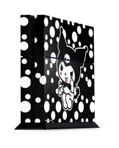 Kuromi Troublemaker PS4 Console Skin