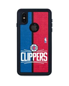 LA Clippers Canvas iPhone XS Waterproof Case