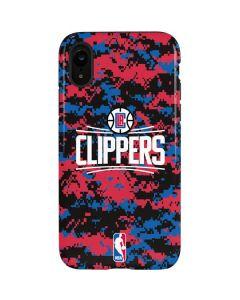 LA Clippers Digi Camo iPhone XR Pro Case