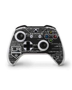 LA Kings Blast Xbox One S Controller Skin