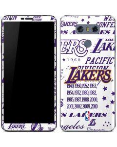 LA Lakers Historic Blast LG G6 Skin
