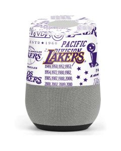 LA Lakers Historic Blast Google Home Skin