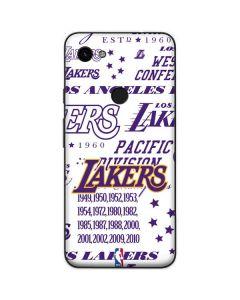 LA Lakers Historic Blast Google Pixel 3a Skin