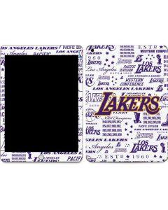 LA Lakers Historic Blast Apple iPad Skin