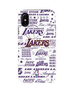 LA Lakers Historic Blast iPhone X Pro Case