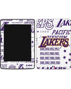 LA Lakers Historic Blast Amazon Kindle Skin