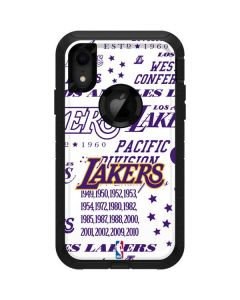 LA Lakers Historic Blast Otterbox Defender iPhone Skin