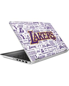 LA Lakers Historic Blast HP Pavilion Skin