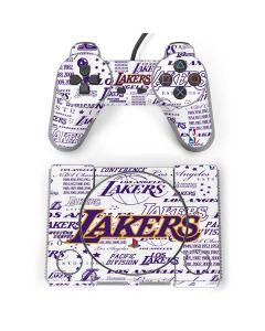 LA Lakers Historic Blast PlayStation Classic Bundle Skin