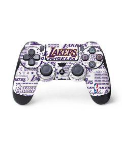LA Lakers Historic Blast PS4 Controller Skin