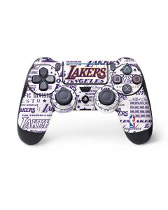LA Lakers Historic Blast PS4 Pro/Slim Controller Skin