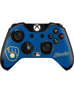Large Vintage Brewers Xbox One Controller Skin