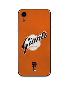 Large Vintage Giants iPhone XR Skin