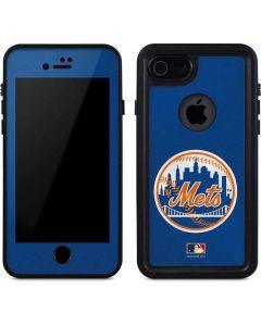 Large Vintage Mets iPhone 7 Waterproof Case