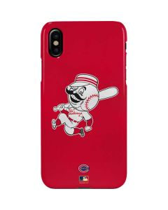 Large Vintage Reds iPhone XS Lite Case