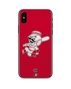 Large Vintage Reds iPhone XS Skin