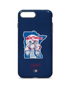 Large Vintage Twins iPhone 7 Plus Pro Case