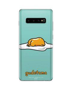 Lazy Gudetama Galaxy S10 Plus Skin