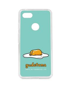 Lazy Gudetama Google Pixel 3 XL Clear Case