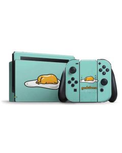 Lazy Gudetama Nintendo Switch Bundle Skin