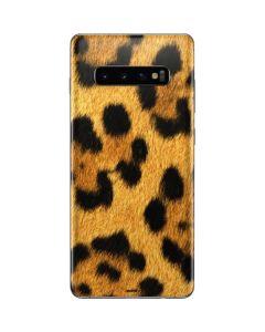Leopard Galaxy S10 Plus Skin