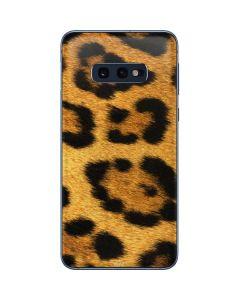 Leopard Galaxy S10e Skin