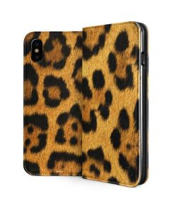 Leopard iPhone XS Max Folio Case