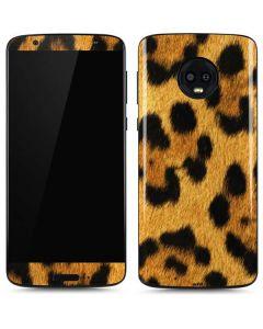 Leopard Moto G6 Skin