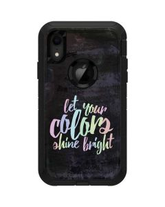 Let Your Colors Shine Bright Otterbox Defender iPhone Skin