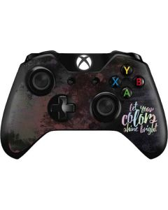 Let Your Colors Shine Bright Xbox One Controller Skin
