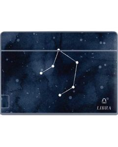 Libra Constellation Galaxy Book Keyboard Folio 12in Skin