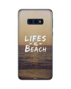 Lifes A Beach Galaxy S10e Skin