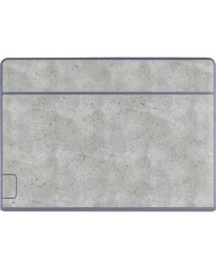Light Grey Concrete Galaxy Book Keyboard Folio 12in Skin