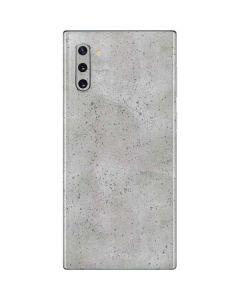 Light Grey Concrete Galaxy Note 10 Skin