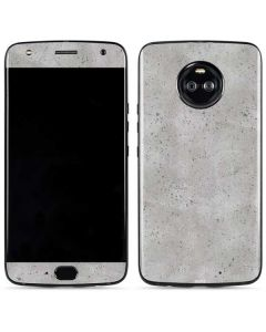 Light Grey Concrete Moto X4 Skin