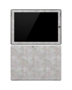 Light Grey Concrete Surface Pro 3 Skin