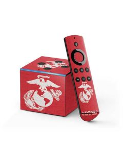 Light Red Eagle Fire TV Cube Skin