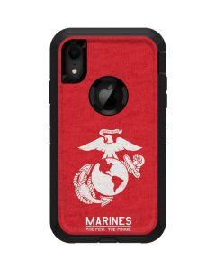 Light Red Eagle Otterbox Defender iPhone Skin